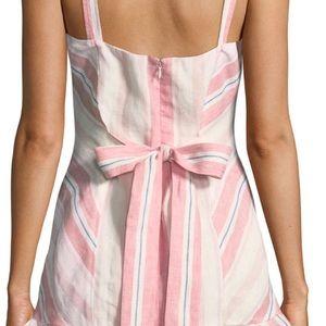 Parker Dresses - Yuna Sweetheart Striped Linen Mini Dress. NWT sz 0